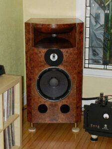 Classic Audio Loudspeakers T-3.4 Field Coils Horn Speakers