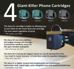 Hana Cartridges Excel Sound