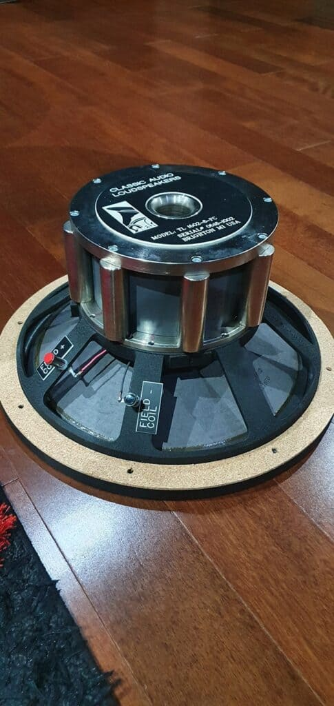 Field Coil Driver Speakers & Horns